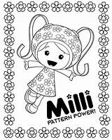 Umizoomi Coloring Pages sketch template