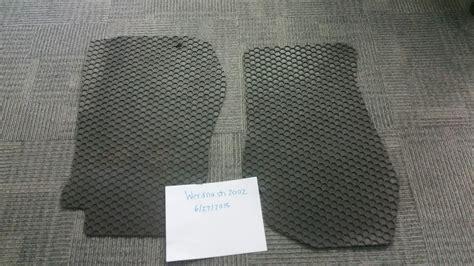 Hexomat Custom All Weather Floor Mats by Fs All Weather Floor Mats Cargo Net Custom Front