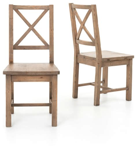 wood dining chairs set of 2 farmhouse dining chairs