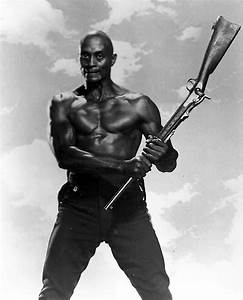 Woody Strode at Brian's Drive-In Theater