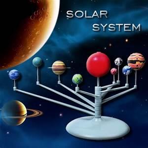 Cute Sunlight Solar System Celestial Bodies Planets Model ...