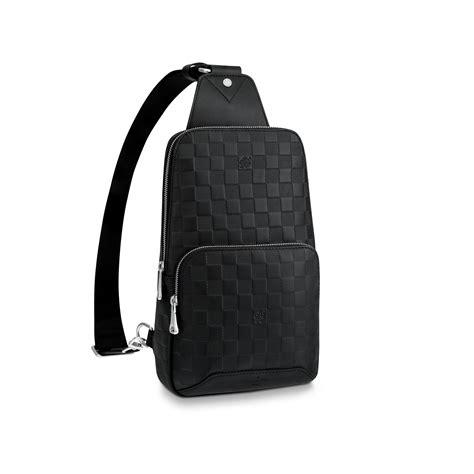 avenue sling bag damier infini leather mens bags louis vuitton