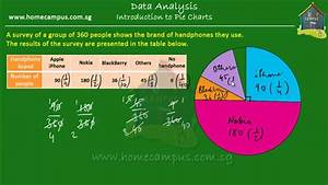 Elementary Math Grade 6 Introduction To Pie Charts Youtube