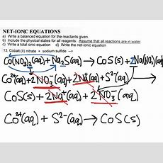 Krista's Net Ionic Equation!  Science Showme