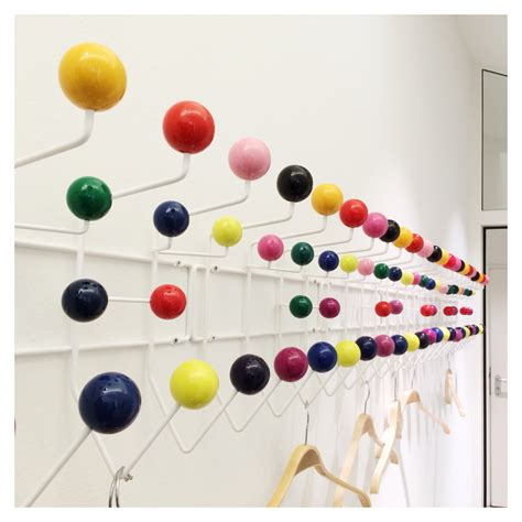 """The Iconic Eames """"hang It All"""" Coat Rack"""