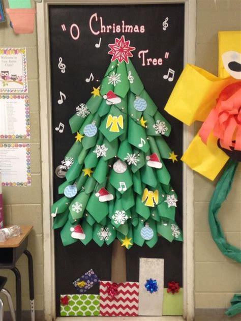 fun diy holiday door decorating ideas nj teachers lounge