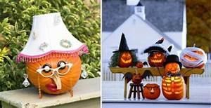 Comment Vider Une Citrouille : la d coration halloween ext rieure 90 id es ~ Voncanada.com Idées de Décoration