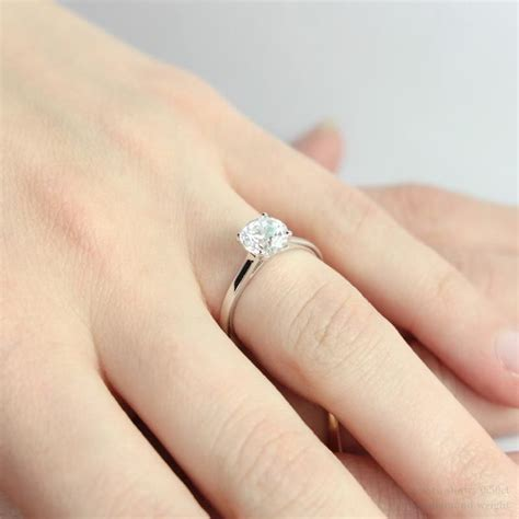 diamond engagement rings on fingers pics 5 engagement