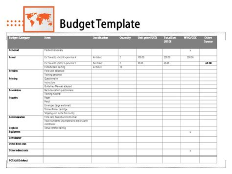 Training Budget Template Pdf by Sle Training Survey