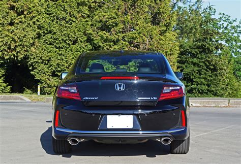 2016 Honda Accord Coupe Review by 2016 Honda Accord Coupe Touring V6 Road Test Review The