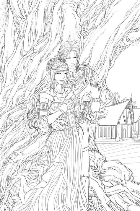 couple adult coloring pages pinterest couple