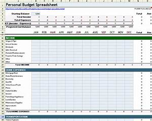 personal budget spreadsheet template for excel With personnel budget template