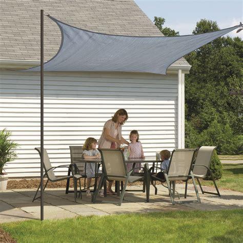 sun sail ideas square sun shade sail cottage cool ways to make shade pinterest sun shade squares and