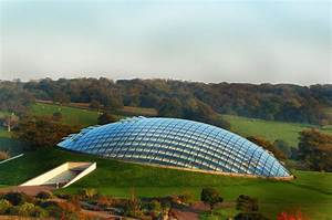 The Great Glass House Rises from the Ground Like a Giant ...