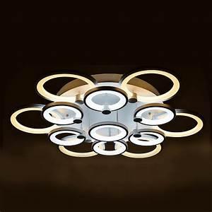 Lustre Pour Salon : lustre de salon luminaire d 39 int rieur led pour plafond 13 modules ~ Preciouscoupons.com Idées de Décoration