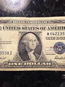 1935 Silver Certificate Dollar Bills Rare