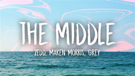"Zedd, Maren Morris, Grey Perform ""the Middle"" (lyric Video"