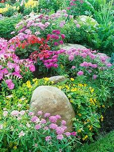 Blumen Für Steingarten : 53 erstaunliche bilder von gartengestaltung mit steinen ~ Markanthonyermac.com Haus und Dekorationen