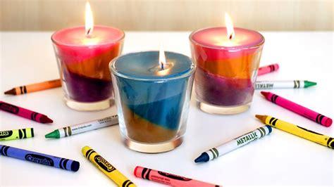 faire des bougies multicolores 224 base de crayons 224 la cire