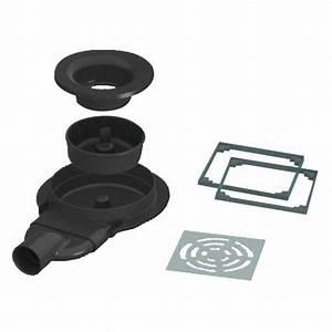 Siphon Extra Plat Lavabo : siphon de sol extra plat pour receveur panodur rotaslim ~ Dailycaller-alerts.com Idées de Décoration