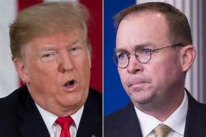 Trump reportedly berated Mulvaney in front of Schumer and Pelosi