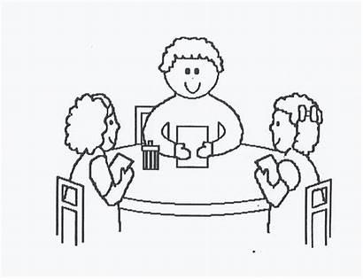 Teacher Table Classroom Students Clipart Kindergarten Instruction