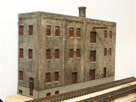 Painting Nscale Buildings  N Scale Pinterest