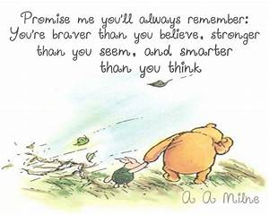 """Winnie The Pooh"" Quotes To Live By"