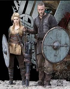 Vikings TV Show Season 1: Ragnar And Lagertha Costumes ...