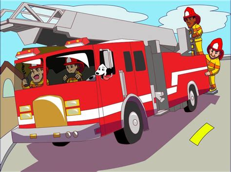Firefighter Cartoon For Kids Share Firefighter Puzzles
