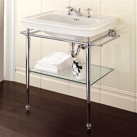 console sink with chrome legs polished chrome legs for console bathroom sink useful