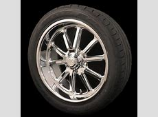 US Mags Chrome Rambler 17x8 5x45 Wheel and Tire Package