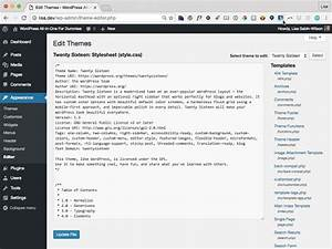 entering the custom field code in the wordpress template With editing wordpress templates