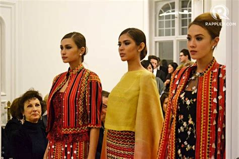 modern filipiniana renee saluds   neo ethnic