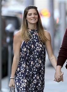 ASHLEY GREENE and Paul Khoury Out in Los Angeles 03/08 ...