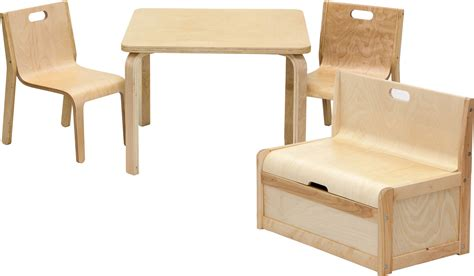 cassapanca con tavolo set di mobili per bambini joel tavolo e sedie con