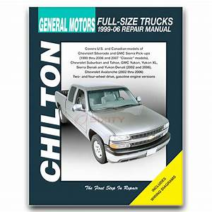 Chevy Silverado 1500 Chilton Repair Manual Ls Classic Z71