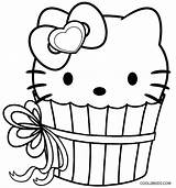Cupcake Coloring Pages Kitty Hello Cupcakes Printable Adult Cool2bkids Colouring Birthday Happy Sheets Print Printables Pdf Princess Familyfriendlywork sketch template