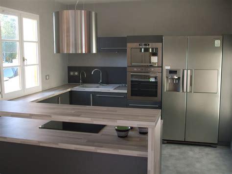 meuble cuisine haut leroy merlin cuisines en u cuisine en image