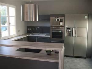 cuisines en u cuisine en image With meuble de salle a manger avec cuisine aménagée en u