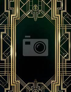 Papier Peint Art Deco : great gatsby clip art borders pictures to pin on pinterest ~ Dailycaller-alerts.com Idées de Décoration