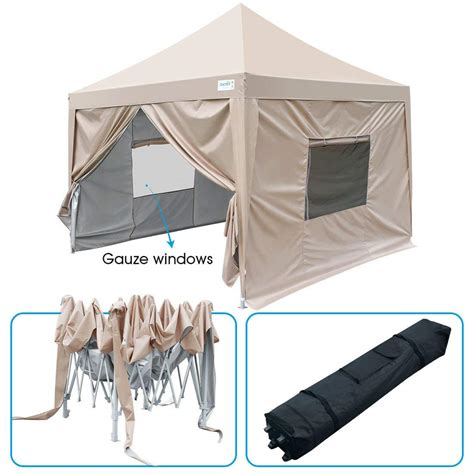 upgraded quictent  ez pop  canopy tent instant folding party tent pyramid roofed
