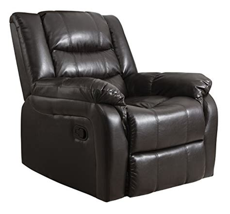 Gaming Recliner Chairs by Oxford Leather Recliner Armchair Sofa Home Lounge Chair