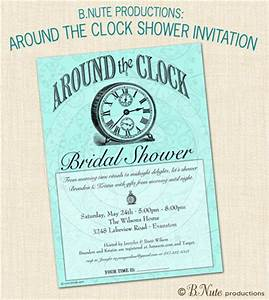 Bnute productions around the clock bridal shower gift for Around the clock wedding shower gift ideas