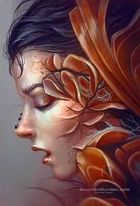 Jennifer Healy {fantasy surreal beautiful female head ...
