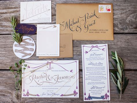Your Wedding Stationery Contract