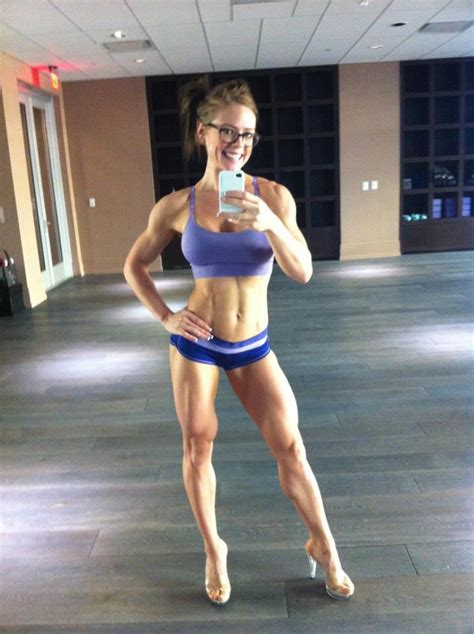 What Abs in Vegas: Mallory Haldeman IFBB Figure Competitor ...