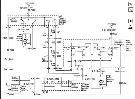 Gmc Sierra Power Window Wiring Diagram Auto