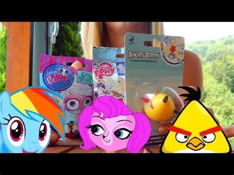 pony mlp angry birds  littlest pet shop