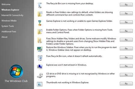 les icones du bureau ont disparu r 233 soudre les 50 probl 232 mes majeurs de w7 avec fixwin